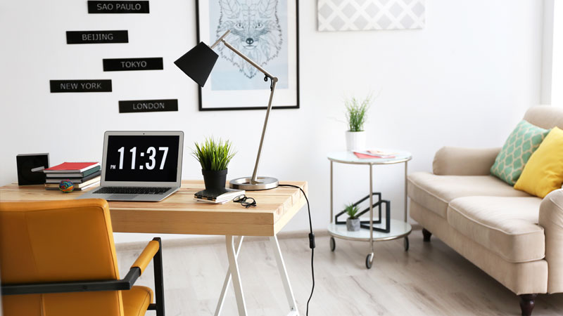 Create your ideal office at home llinteriors leonard leese for Creating a home office